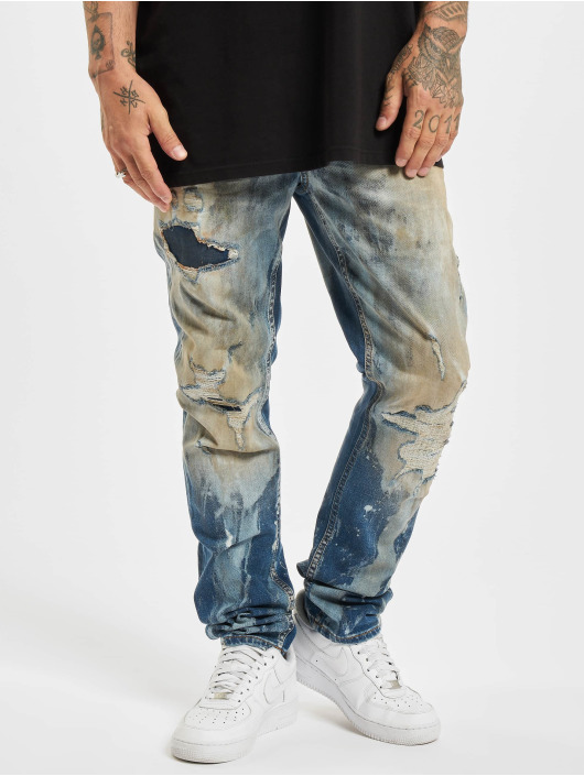 Yakuza Straight Fit Jeans Talquito Straight Fit Jeans blau