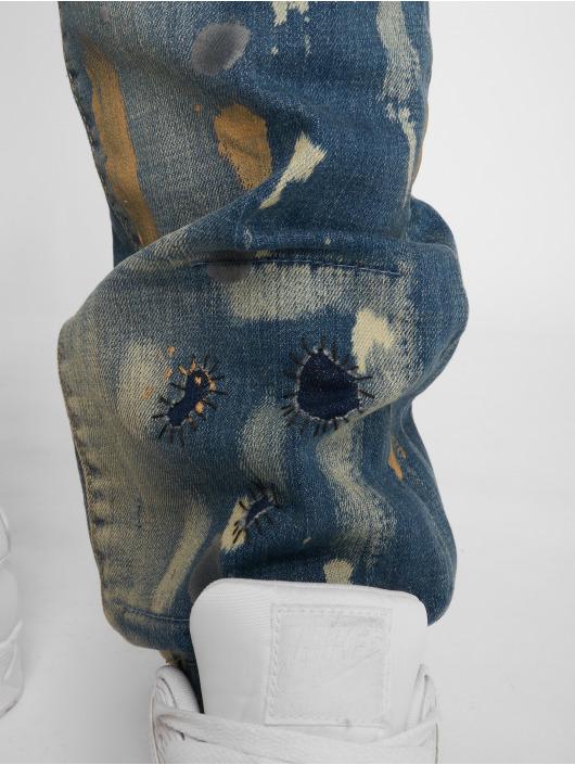 Yakuza Straight fit jeans 893 blauw