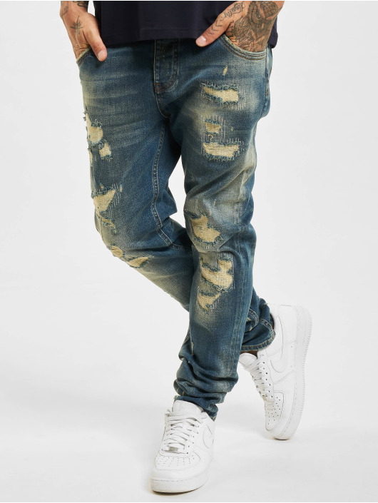Yakuza Straight Fit Jeans 420 blue