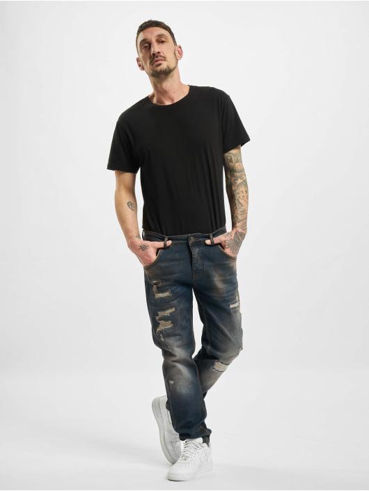 Yakuza Straight Fit Jeans 420 blue
