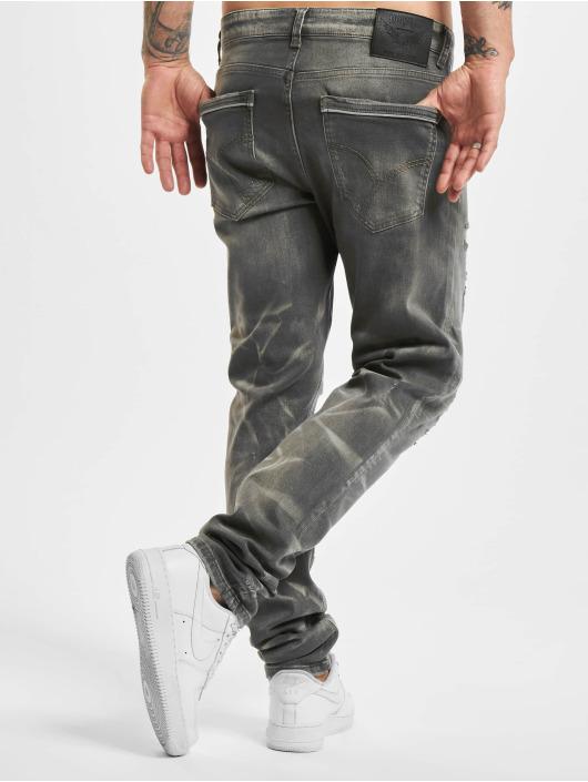 Yakuza Straight Fit Jeans 420 grau