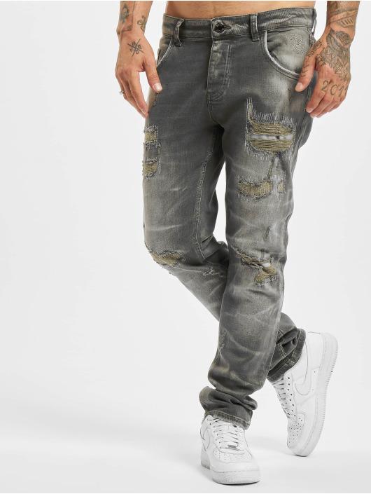 Yakuza Straight Fit Jeans 420 gray