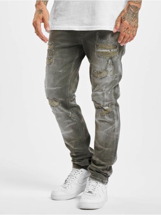 Yakuza Straight Fit Jeans 420 grey