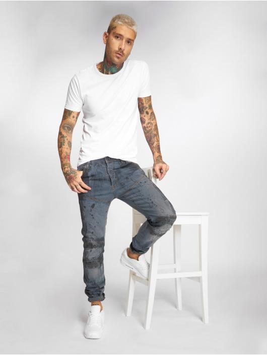 Yakuza Straight Fit Jeans 893 modrý