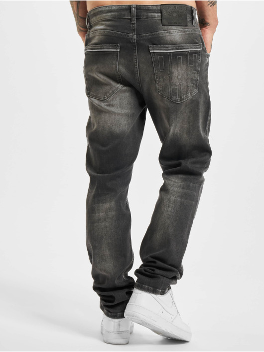 Yakuza Straight Fit Jeans Straight Fit schwarz