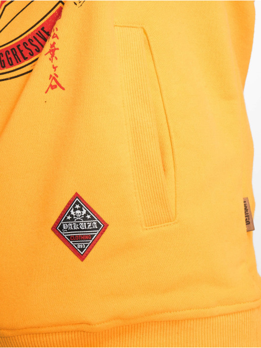 Yakuza Sudadera Mexica Two Face amarillo