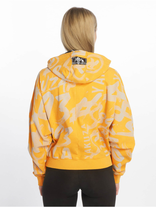 Yakuza Sudadera Allover Funnel amarillo