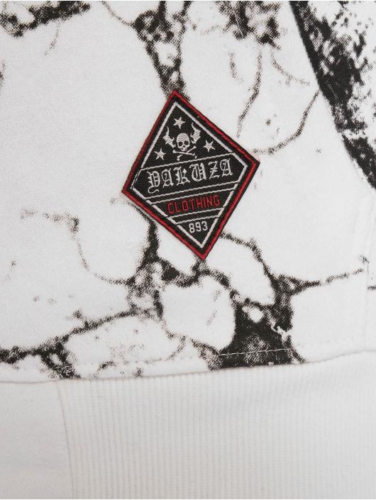 Yakuza Sudaderas con cremallera Marble blanco