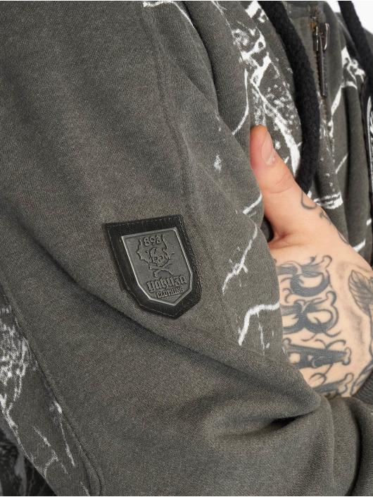 Yakuza Sudaderas con cremallera Marble gris