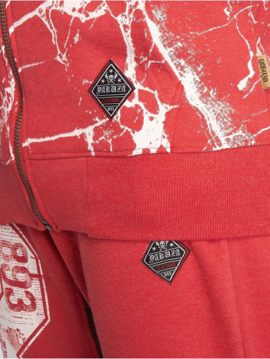 Yakuza Sudaderas con cremallera Marble rojo