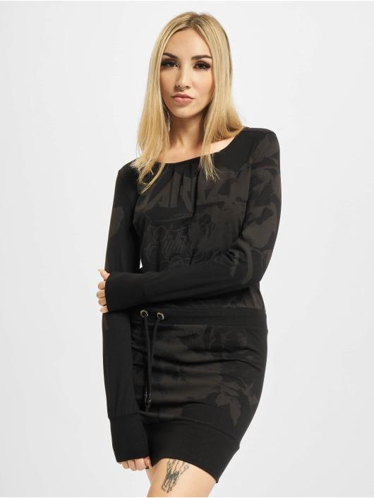 Yakuza Sukienki Florid czarny