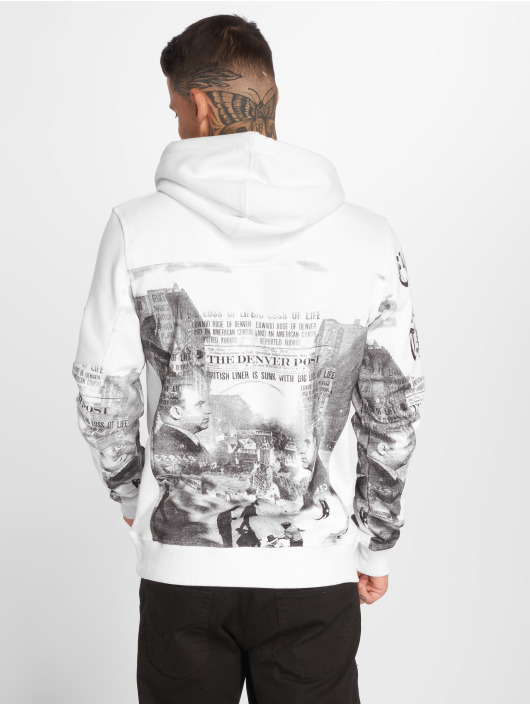 Yakuza Sweat capuche Italian Job blanc