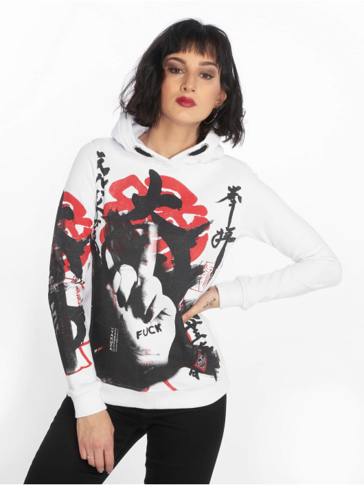 Yakuza Sweat capuche Japanese Flex blanc