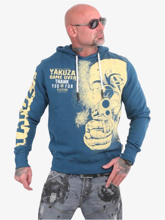 Yakuza Sweat capuche Hating Clown bleu