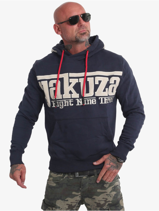 Yakuza Sweat capuche Sf App bleu