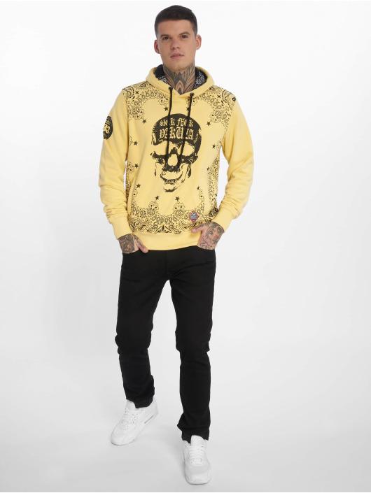 Yakuza Sweat capuche Tijuana jaune