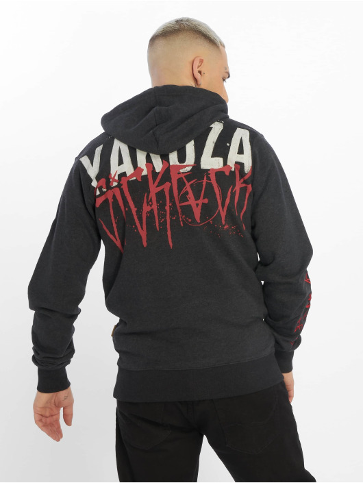 Yakuza Sweat capuche Smile noir