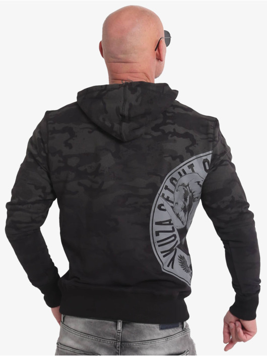Yakuza Sweat capuche Vicious Circle noir