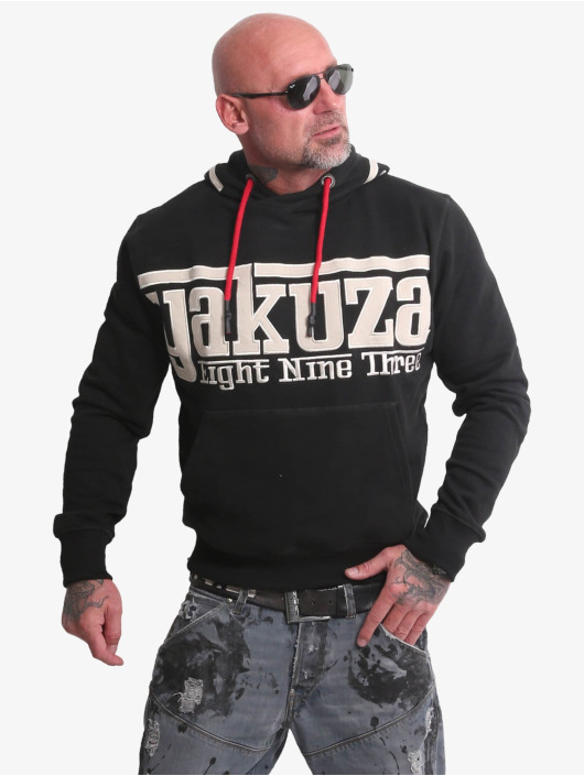 Yakuza Sweat capuche Sf App noir