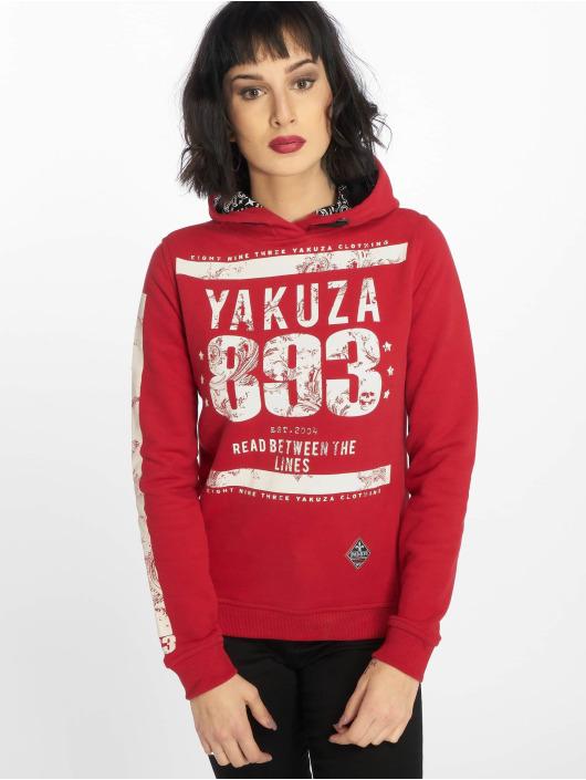 Yakuza Sweat capuche Between The Lines rouge