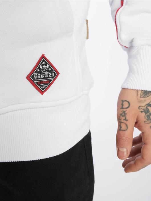 Yakuza Sweat capuche zippé Daily Jolly blanc