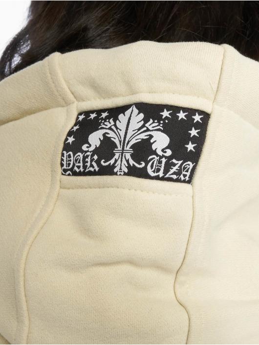 Yakuza Sweat capuche zippé Dot Crosswise brun