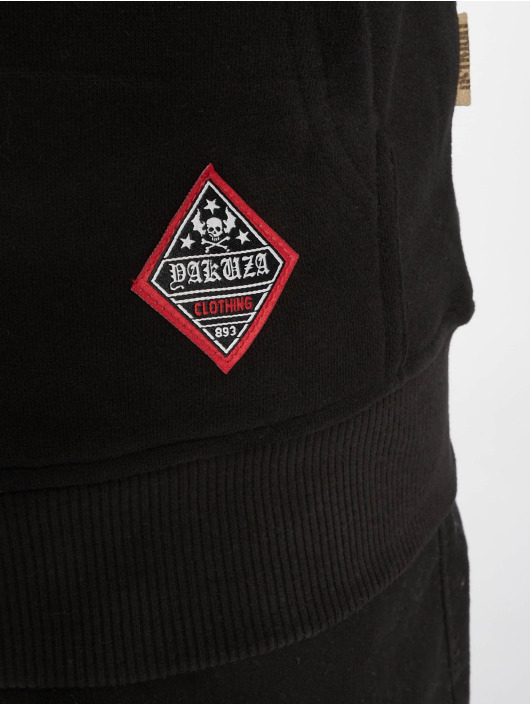 Yakuza Sweat capuche zippé Daily Jolly noir