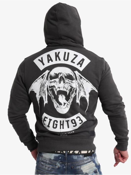Yakuza Sweat capuche zippé 893mc Ninja noir
