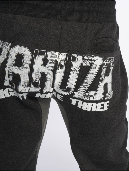Yakuza Sweat Pant Badge black