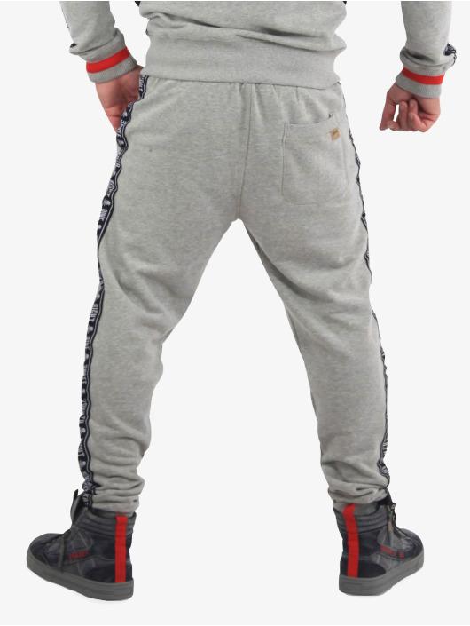 Yakuza Sweat Pant Bad Side gray