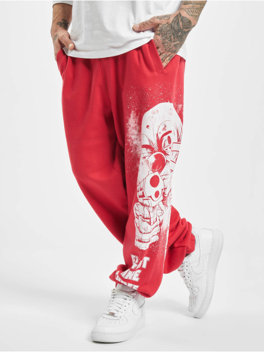 Yakuza Sweat Pant Clown Loose red