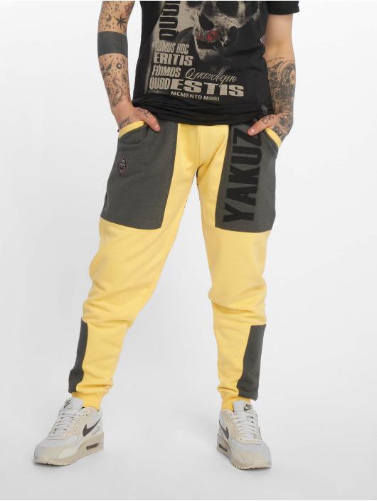 Yakuza Sweat Pant Imperator Two Face yellow