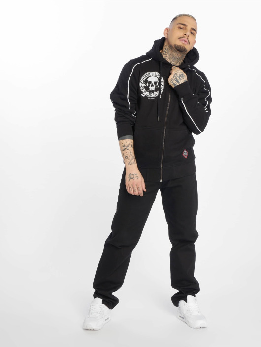 Yakuza Sweatvest Daily Jolly zwart