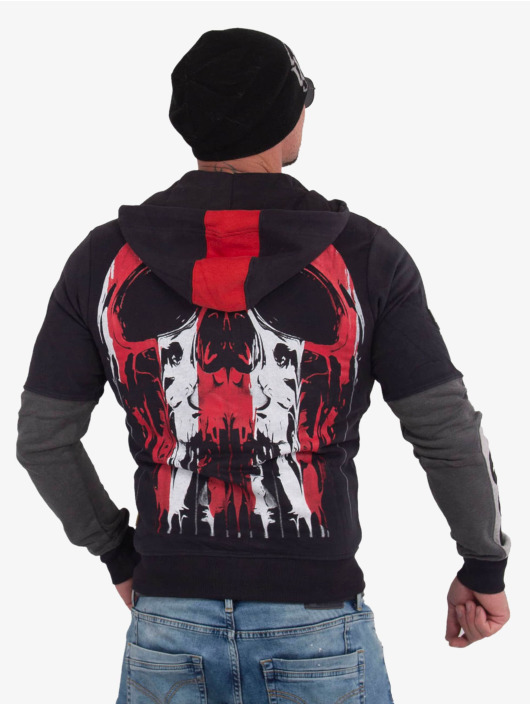 Yakuza Sweatvest Imperator Two Face zwart