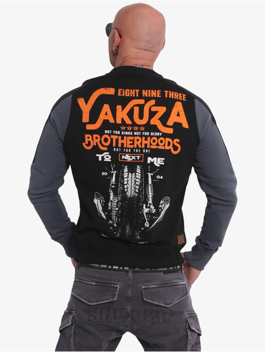 Yakuza Swetry Brotherhood czarny