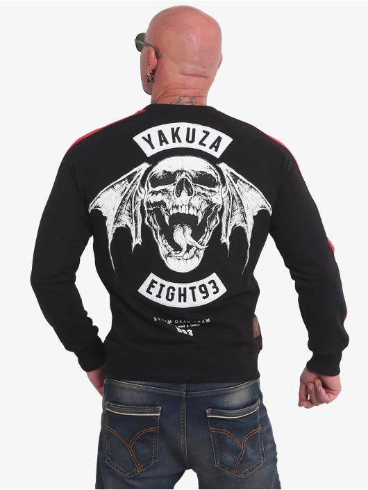 Yakuza Swetry 893mc czarny