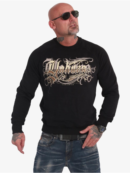 Yakuza Swetry Glory czarny