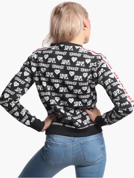 Yakuza Swetry Logo Love Classic czarny