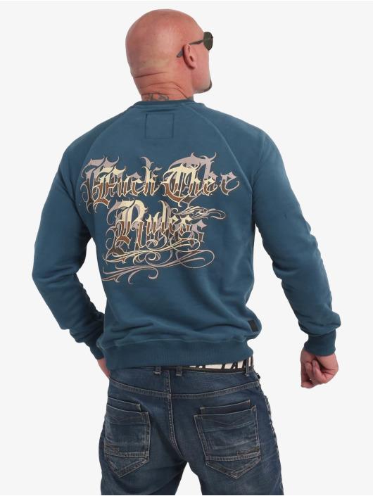 Yakuza Swetry Glory niebieski
