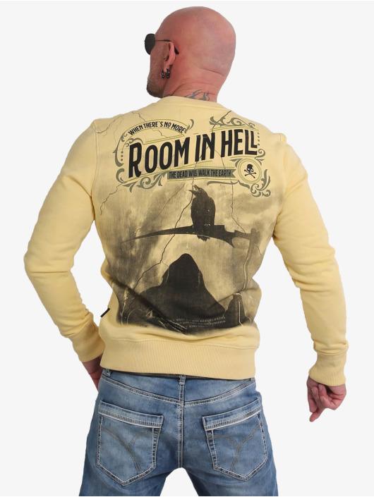 Yakuza Swetry Room In Hell zólty