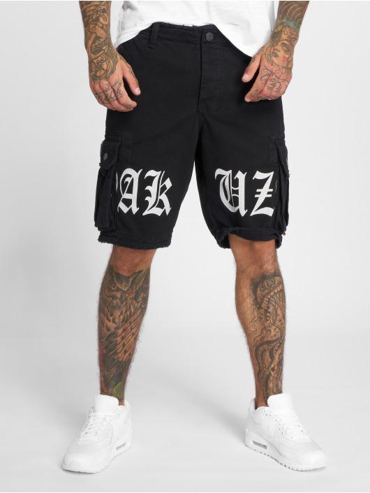 Yakuza Szorty Skull Label czarny