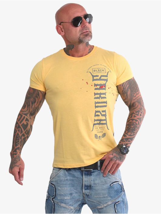 Yakuza T-paidat Ammo keltainen