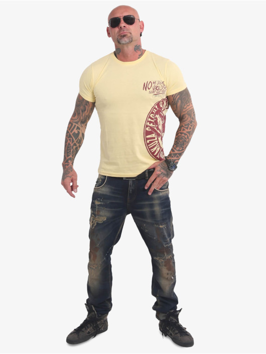 Yakuza T-paidat Jodas keltainen