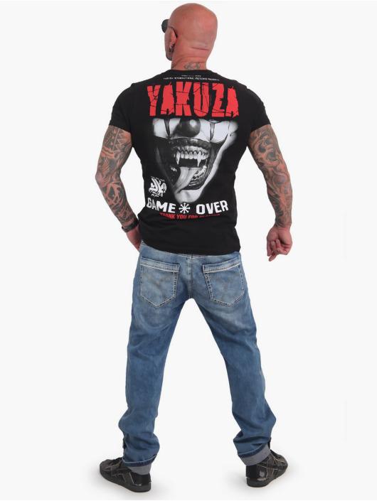 Yakuza T-paidat Game Over musta