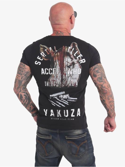 Yakuza T-paidat Swine musta