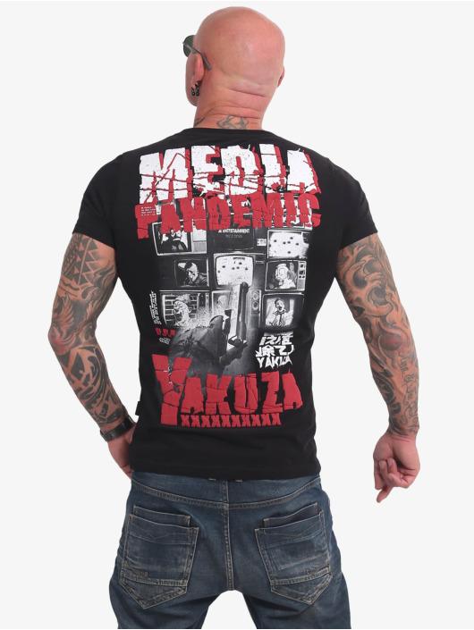 Yakuza T-paidat Pandemic musta