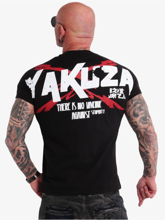 Yakuza T-paidat Stupidity musta