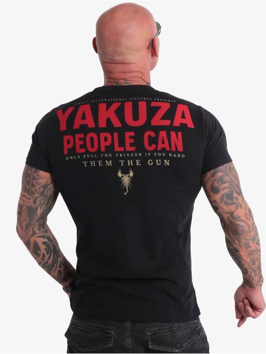 Yakuza T-paidat People musta
