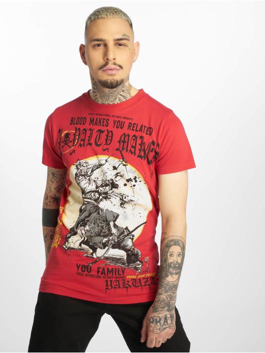 Yakuza T-paidat Loyality punainen