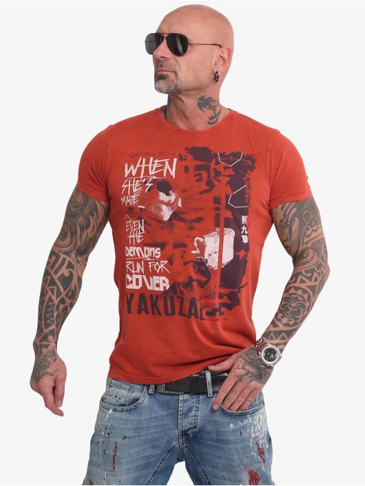 Yakuza T-paidat Run For Cover punainen